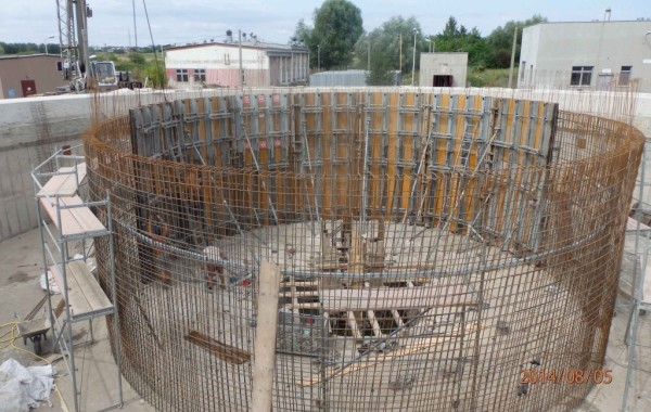 Modernizacja zbiorników na oczyszczalni ścieków Busko Zdrój