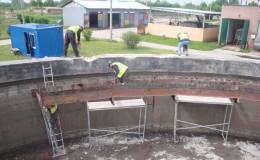 Realizacje 1. Modernizacja żelbetowego zbiornika retencyjnego