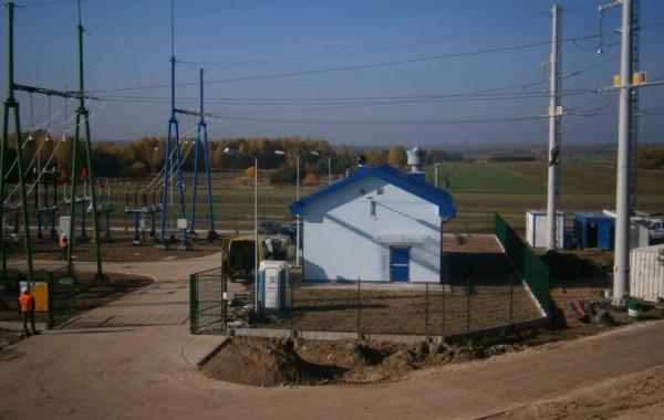 Budowa stacji podtrakcyjnej w Pląskowicach